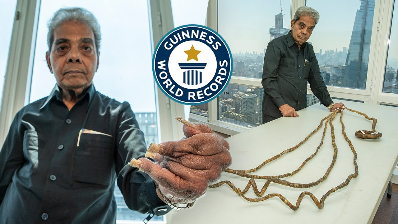 Download Why he cut his nails after 66 years - Guinness World Records