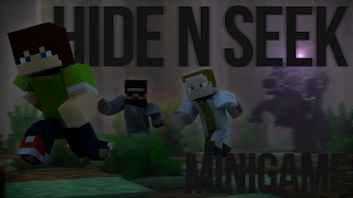 HOŠI JSEM KVĚTINÁČ! | Minecraft Hide n Seek w/ Gejmr & Pedro