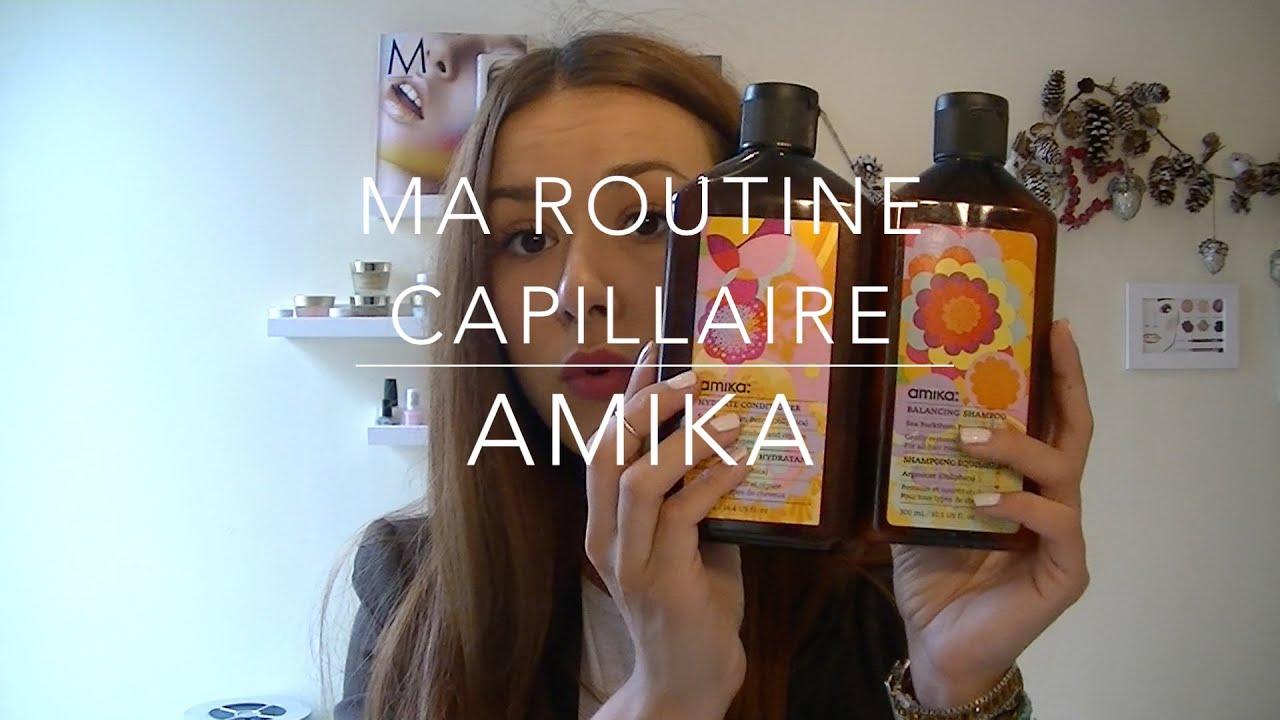Objectif Cheveux De Reve Ma Routine Capillaire Amika Youtube