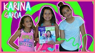 "TESTING & REVIEW "" KARINA GARCIA SLIME KIT"" GLOW IN THE DARK SLIME ""SISTER FOREVER"""