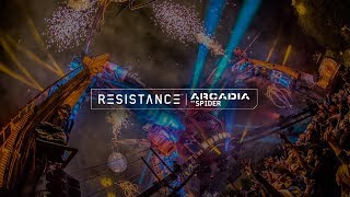 Live in Miami for Day 2 of the Ultra Resistance Arcadia Spider show...