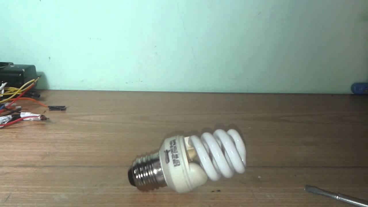 Come funziona la lampada fluorescente. In cosa consiste la lampada fluorescente 94