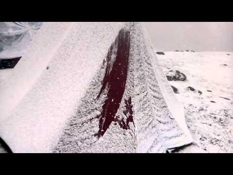 sikkim dzongri snowfall