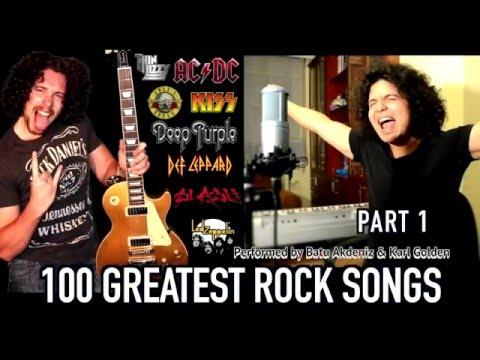 Top 100 Greatest Rock Songs Medley (Part One)