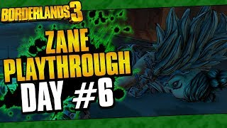 Borderlands 3 | Zane Playthrough Funny Moments And Drops | Day #6