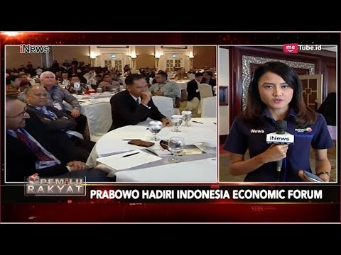Prabowo Subianto Ibaratkan Ekonomi di Inonesia Seperti Analogi Tubuh - Pemilu Rakyat 21/11