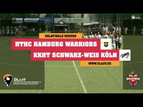 LACROSSE DM 2017 - HALBFINALE HERREN - HAMBURG vs. KÖLN