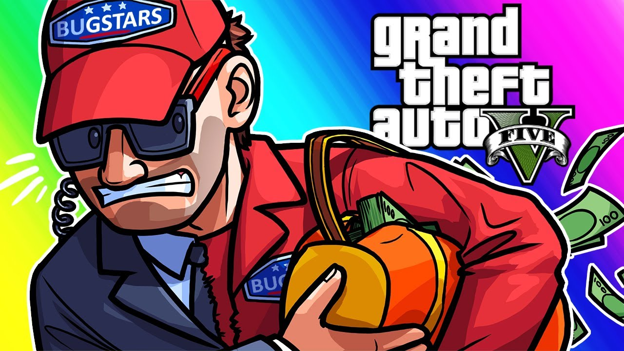 GTA5 Online Funny Moments - Diamond Casino Heist FINALE!