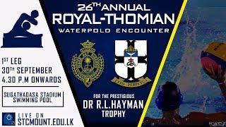 26th Dr.R.L.Hayman Trophy-Part 1