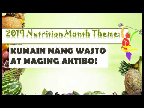Nutrition Month 2019-2020 | Ateneo de Manila University