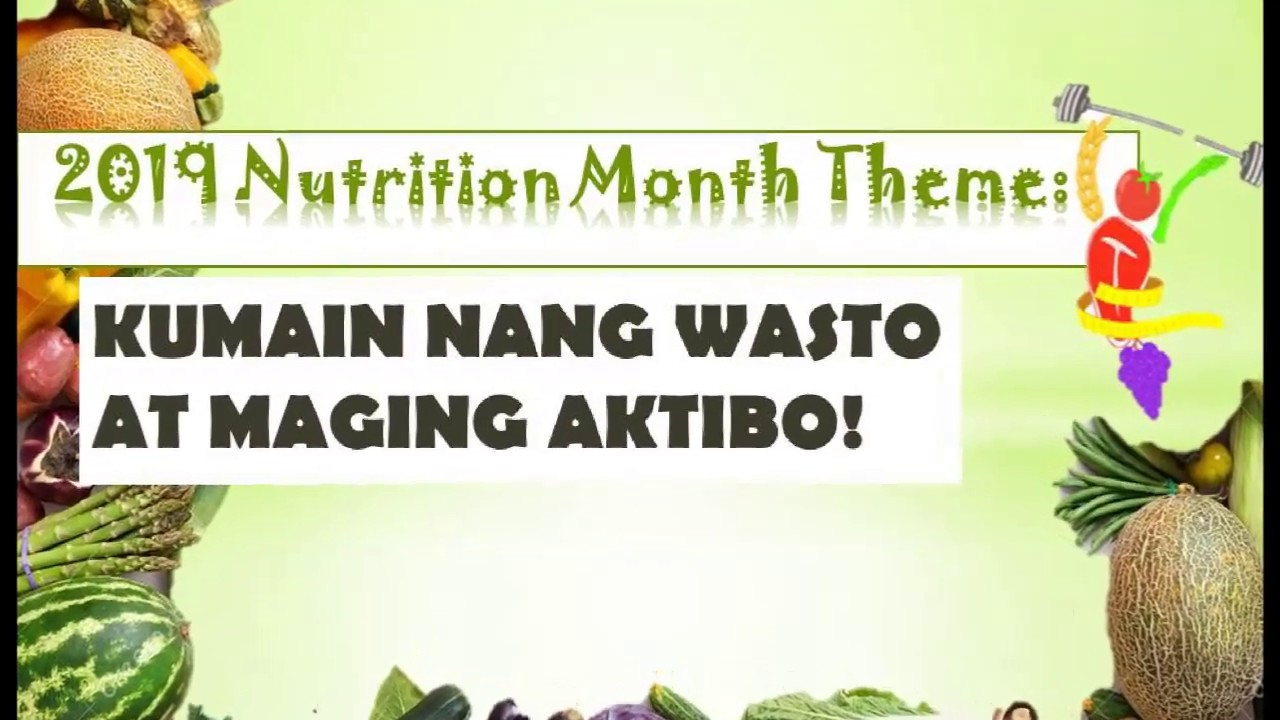 Nutrition Month 2019 2020 Ateneo De Manila University