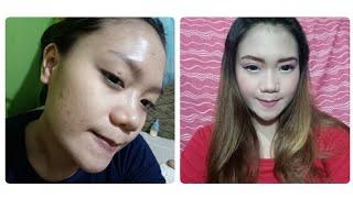Tutorial makeup untuk muka berjerawat ( Bb Cushion Maybelline , Pixy , Fanbo) ...