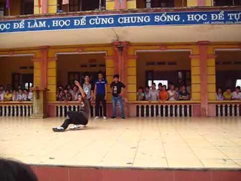Hip-hop - THPT Yên Lạc. Buổi tổng duyệt 26 - 3 - 2010