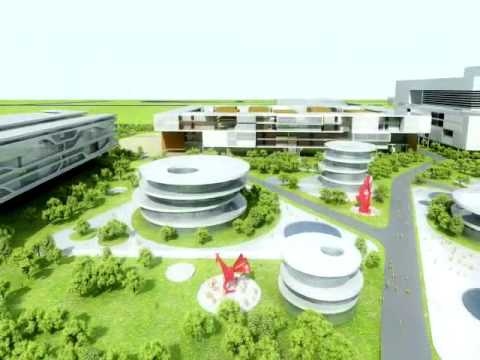 University in a wetland - New Hangzhou Univer-City Part 1
