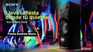 Lanzamiento BTL Sony Audio 2015 Medellín - Colombia