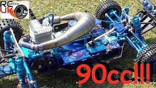 Darrens Rcmax 90cc HYBRID WOWWWWWW!!!