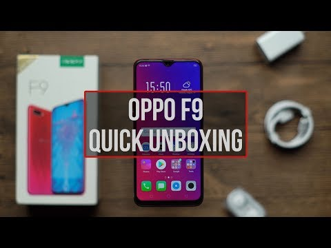 OPPO F9 | Quick Unboxing