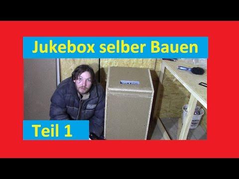 jukebox selber bauen teil 1 youtube. Black Bedroom Furniture Sets. Home Design Ideas