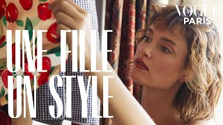 Inside model Léa Bonneau's parisian apartment | Vogue Paris