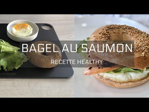 recette-healthy-santÉ---bagel-au-saumon