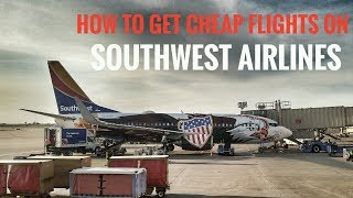 How to Book Cheap Flights Southwest Airlines. Score Deals!