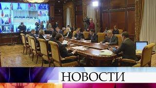 Переход на новую систему обращения с коммунальными отходами обсудили на совещании у Д.Медведева.