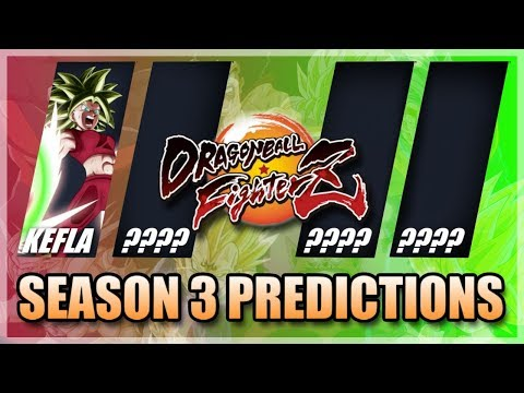 Season Pass 3 DLC PREDICTIONS!!!   Dragon Ball FighterZ   PS4, Xbox One & Nintendo Switch