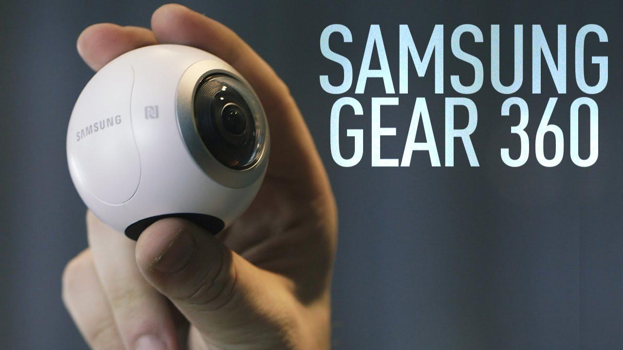 d1150c3bcee0f5 Samsung Gear 360 Camera - YouTube