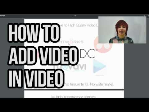 How to make a 'video-in-video' or 'picture-in-picture' effect with VSDC Free Video Editor