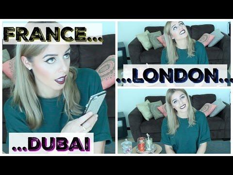 FAQ ♡ Mon parcours...de la France, ma vie à Londres et mon arrivée à Dubai | Yas & Nab