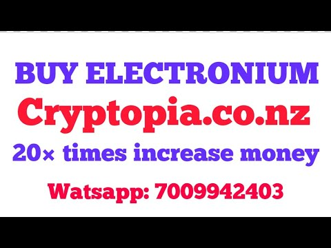 how to buy coins on cryptopia