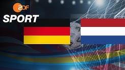 Deutschland - Niederlande - Die Analyse | Handball-EM 2020 - ZDFsport