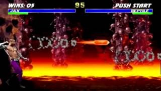 Ultimate Mortal Kombat 3 Gameplay JAX
