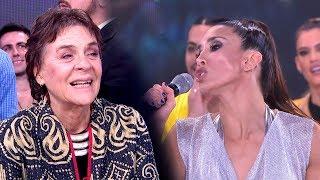 Flor Marcasoli imitó a Cristina Kirchner frente a la mamá de Esmeralda Mitre