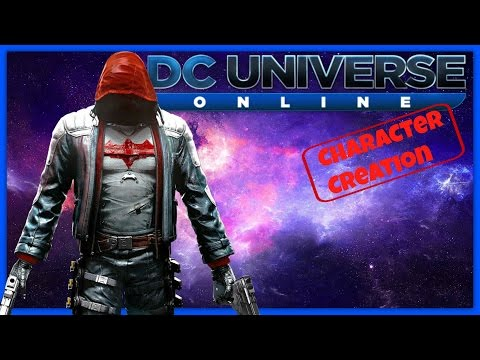 Dc Universe Online - Character Creation - Red Hood