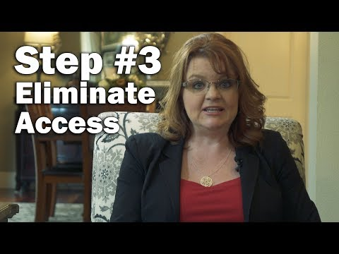Step Three: Eliminate access -  Top 10 action items when fraud is uncovered or suspected