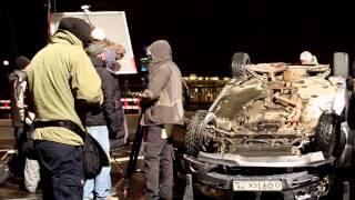 Алексей Чадов и Оксана Акиньшина попали в автокатастрофу