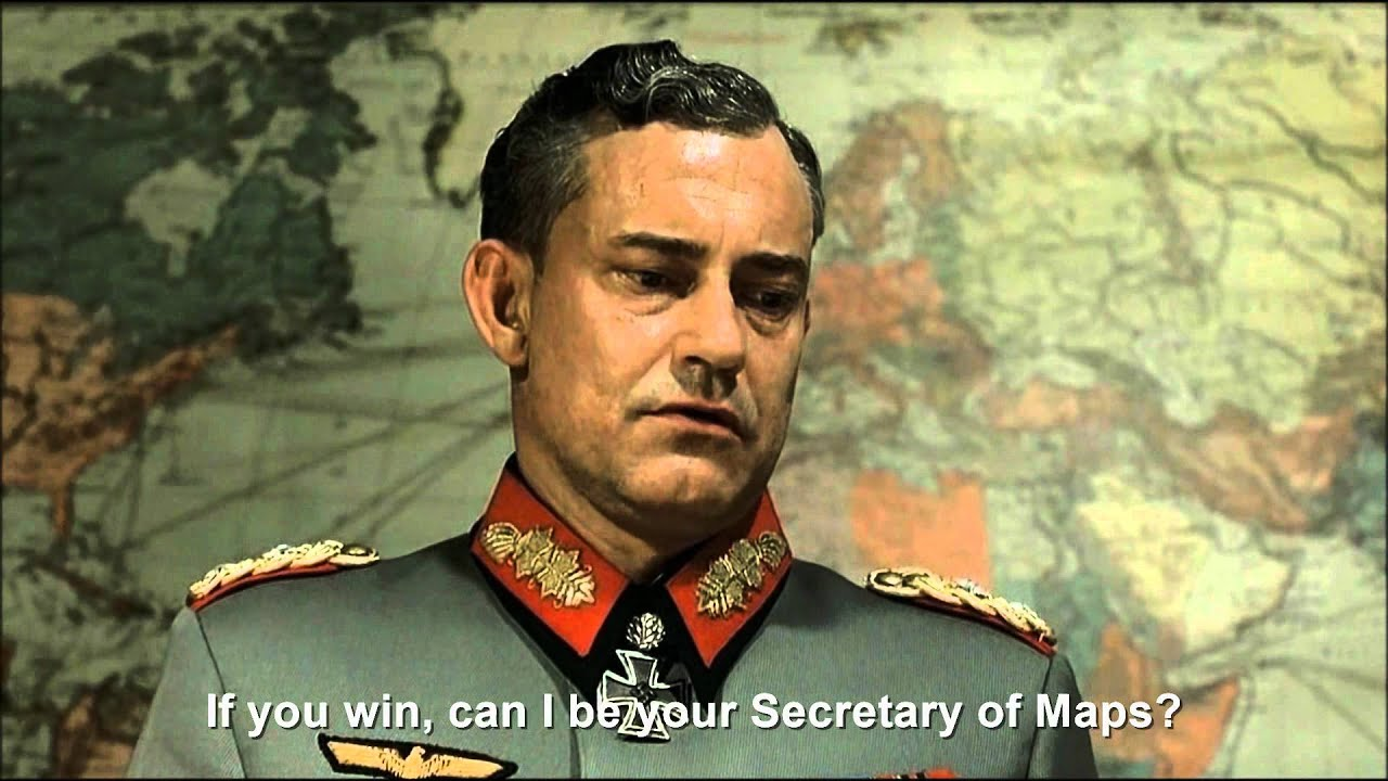 Hitler plans to run as an independent in the 2012 Presidential Election