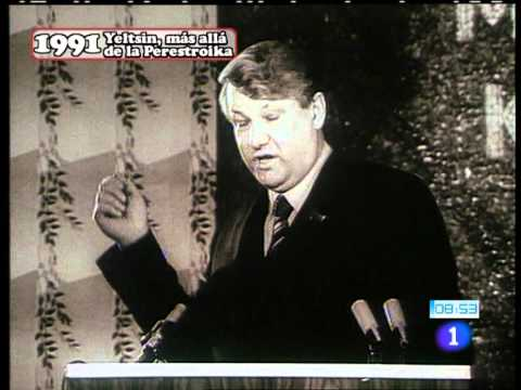 Breve historia documental de Boris Yeltsin.