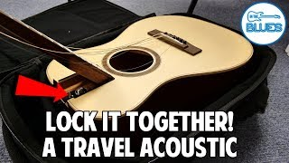 Journey Instruments Overhead Acoustic Guitar OF420L (The BEST Acoustic Travel Guitar)