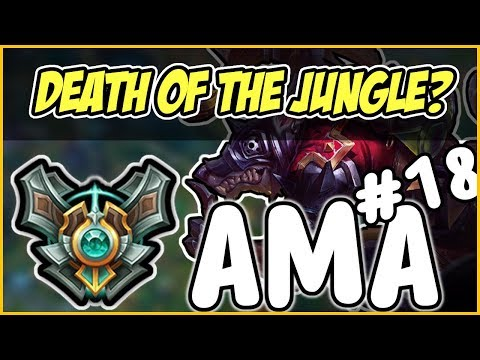 My Fursona??? Is Jungle Twitch Dead? Am I a real Gamer?  Masters AMA #18 - League of Legends