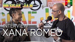 Interview with Xana Romeo, Reggae Jam 2017