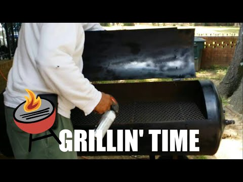 BBQ Grill Unveiling   I Finally Got ... Part II