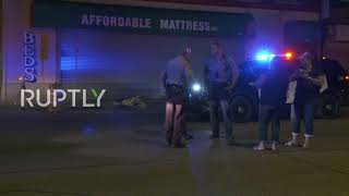 USA: Armed civilians guard Minneapolis streets from looting and chaos