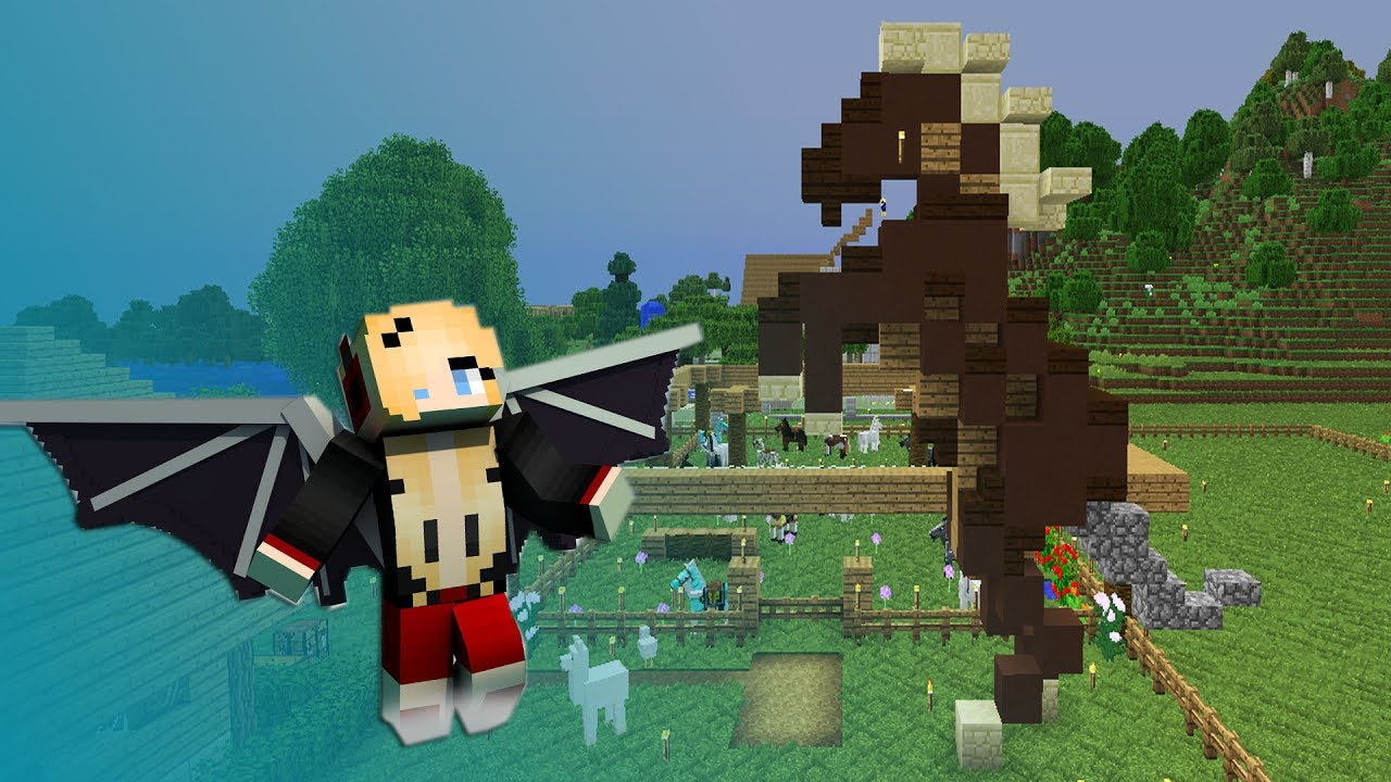 13 on continue le realm et le cheval youtube - Cheval minecraft ...
