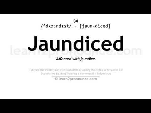 Jaundiced definition – buzzpls.Com