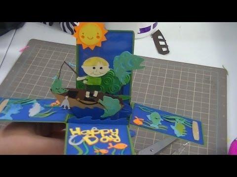 Fishing Box Card