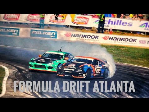 FORMULA DRIFT ATLANTA PRO 1 QUALYFYING AND PRO 2 COMP WITH BIGBOOST!