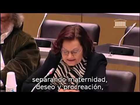 Elisabeth ROUDINESCO commission des lois sur le mariage pour tous. Subtitulos Español