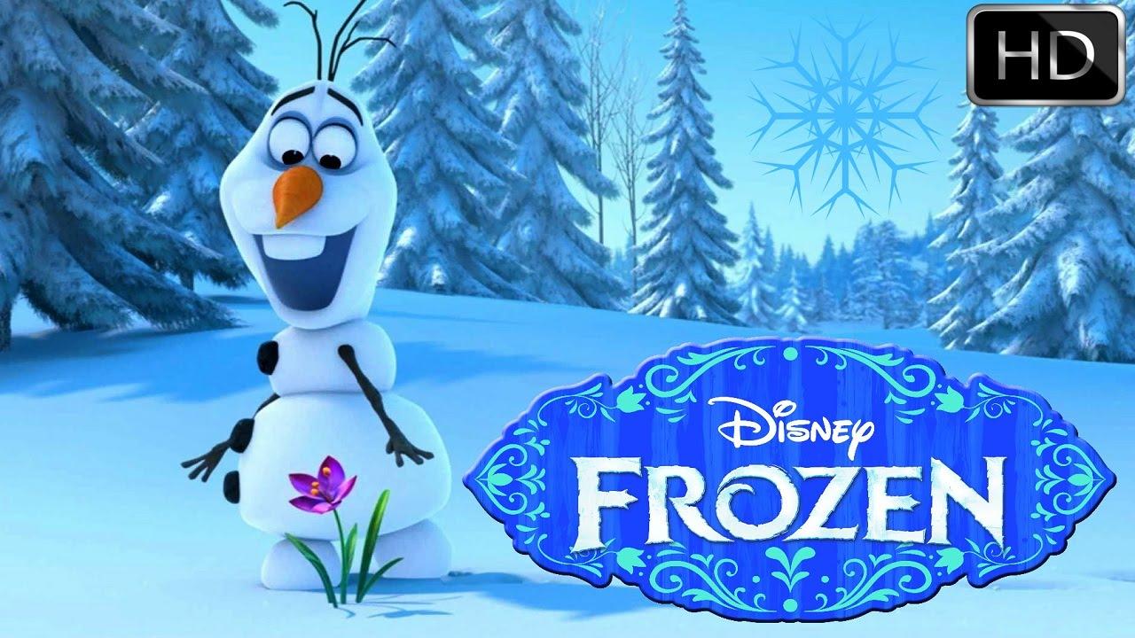 Frozen Mundo Disney Channel Filme Do Desenho Olaf 2015 Youtube